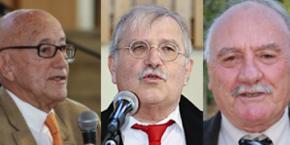 François TRUCY, Pierre-Yves COLLOMBAT et Pierre BLANC reçoivent une médaille de l'Association des Maires du Var