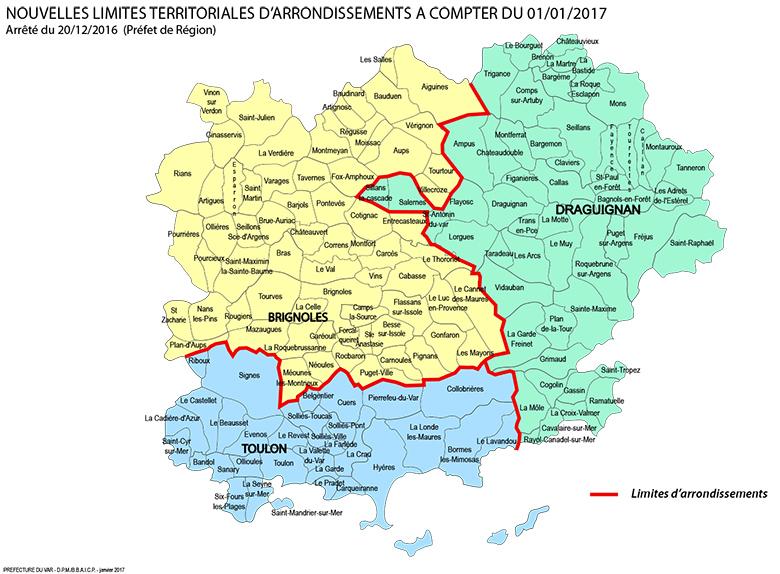 nouvelles limites d'arrondissements 1