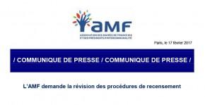 L'AMF demande la révision des procédures de recensement