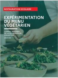 Guide sur la composition nutritionnelle du menu végétarien hebdomadaire en restauration collective