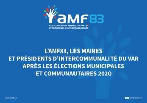 L'AMF83, les Maires et Présidents d'EPCI du Var après les élections 2020
